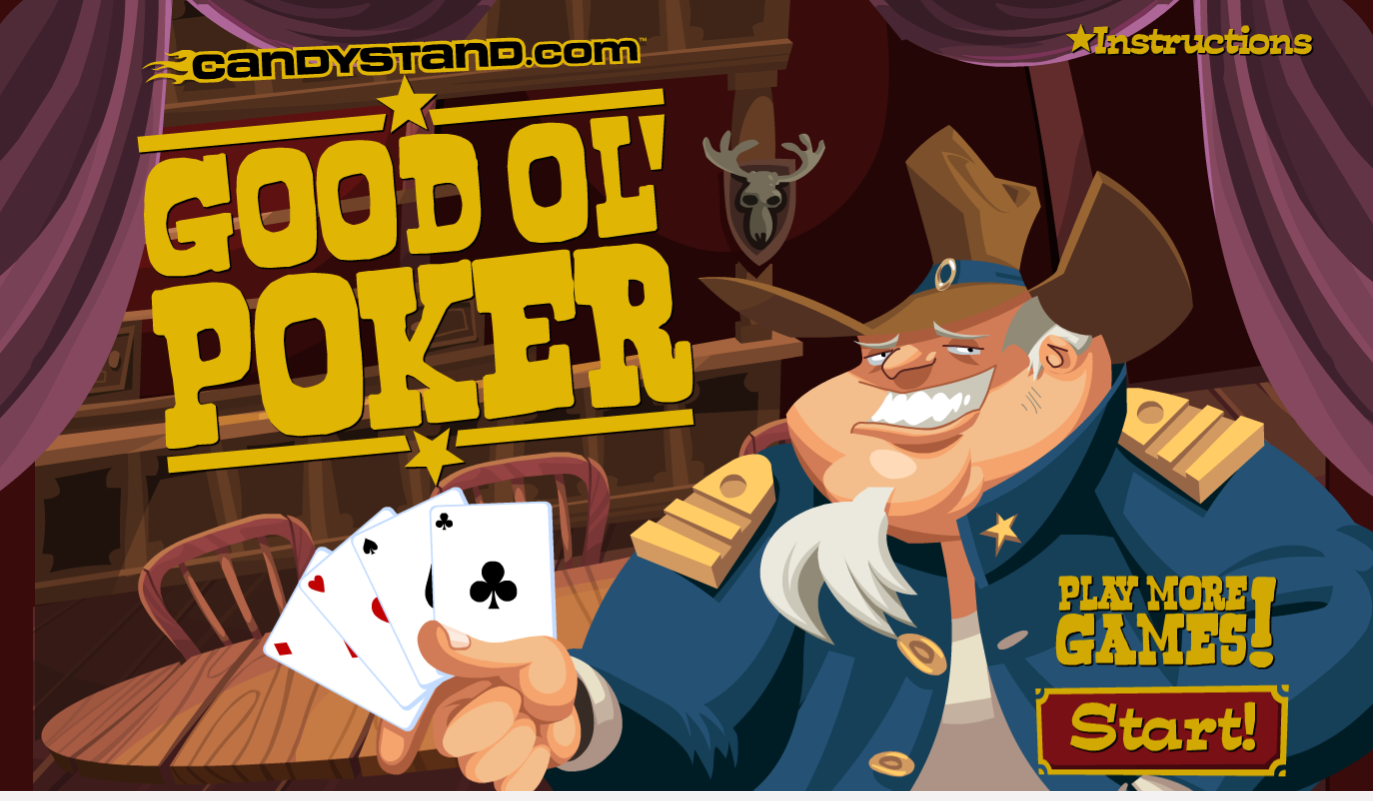 Good ol&039; Poker  (Geras pokeris)