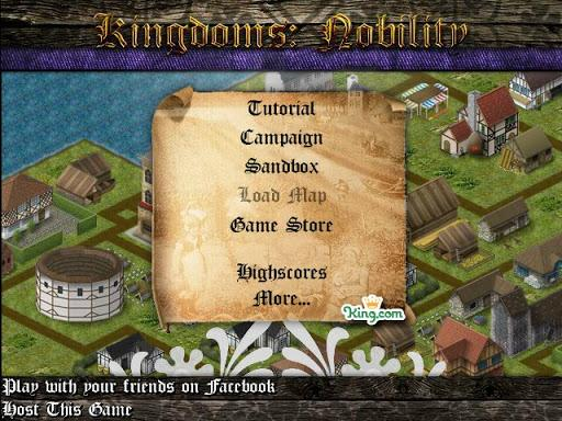 Kingdoms: Nobility  (Karalystės: Kilnumas)